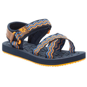Jack Wolfskin Zulu Sandalen Kinderen, blue/orange